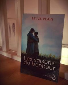 Les saisons du bonheur de Belva Plain (éditions Belfond)
