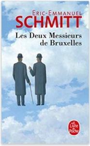 Couverture Les deux messieurs de Bruxelles d'EE Schmitt