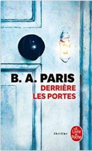 Couverture Derrière les portes de BA Paris
