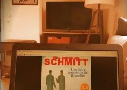 Les deux messieurs de Bruxelles d'Eric-Emmanuel Schmitt (éditions audio Audiolib)