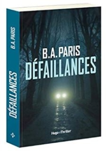 Couverture de Défaillances de B.A Paris