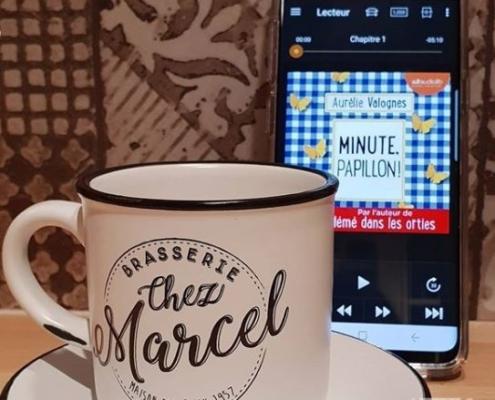 Minute, papillon ! d'Aurélie Valognes (éditions audio Audiolib)