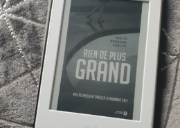 Rien de plus grand de Malin Persoon Giolito (éditions Presses de la Cité)