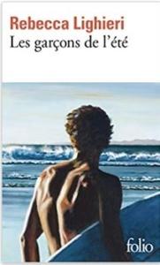 Couverture Les garçons de l'été de Rebecca Lighieri
