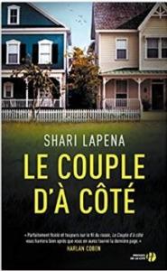 Couverture Le couple d'à côté de Shari Lapena
