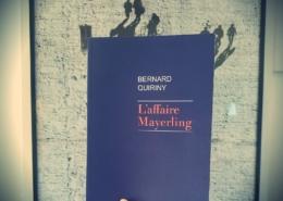 L'affaire Mayerling de Bernard Quiriny (éditions Rivages)