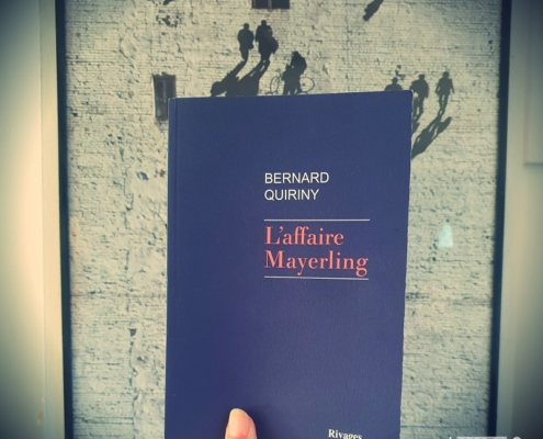 L'affaire Mayerling de Bernard Quiriny (éditions Rivages)