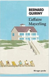 Couverture de L'affaire Mayerling de Bernard Quiriny