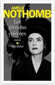 Couverture de Les prénoms épicènes d'Amélie Nothomb