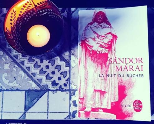 La nuit du bûcher de Sandor Marai (éditions Le livre de poche)