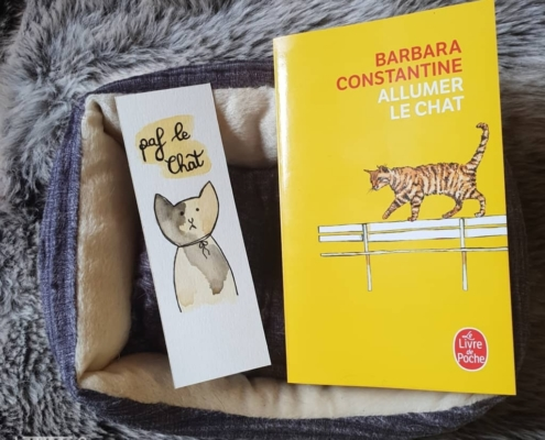 Allumer le chat de Barbara Constantine (éditions Le livre de poche)