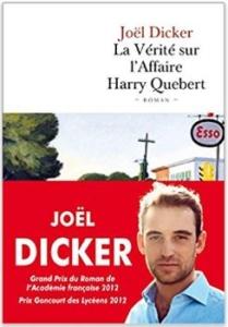Couverture de La vérité sur l'Affaire Harry Québert de Joël Dicker