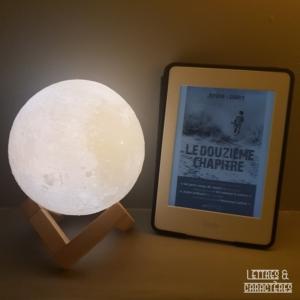 Le douzième chapitre de Jérôme Loubry (éditions Calmann-Levy noir)