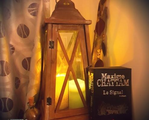 Le signal de Maxime Chattam (éditions Albin Michel)