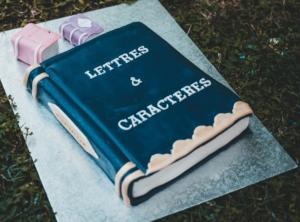 C'est la fête pour Lettres & caractères