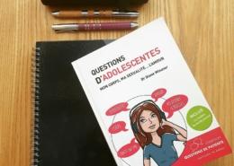 Questions d'adolescentes : Mon corps, ma sexualité... l'amour du Dr Diane Winaver (éditions In Press)
