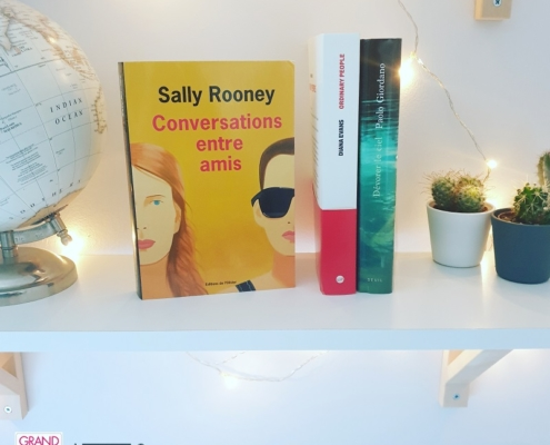 Conversations entre amis de Sally Rooney (éditions de L'Olivier)