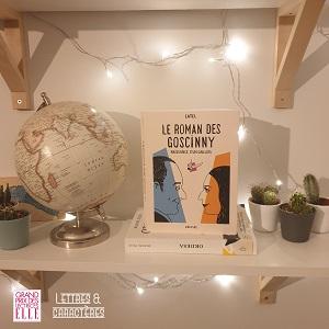 Le roman des Goscinny de Catel (éditions Grasset)
