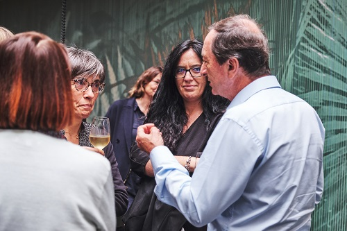 Champagne avec Michel-Edouard Leclerc (copyright Lucile Pellerin)