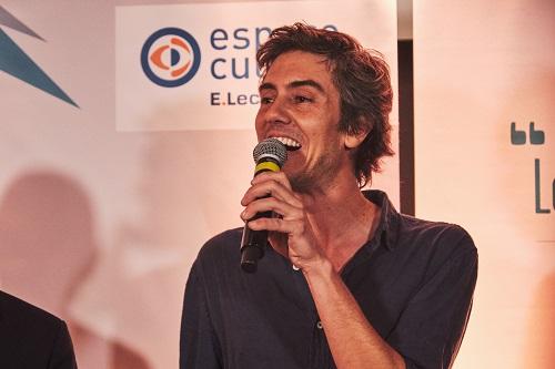 Sylvain Prudhomme, le lauréat 2019 du Landerneau (copyright Lucile Pellerin)