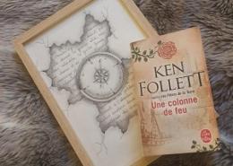 Une colonne de feu de Ken Follett (éditions Le livre de poche)