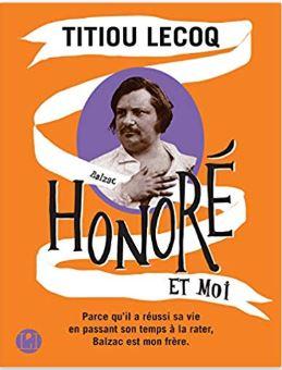 Couverture de Honoré et moi de Titiou Lecoq