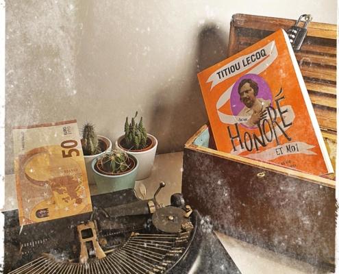 Honoré et moi de Titiou Lecoq (éditions L'iconoclaste)