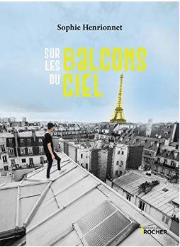 Couverture de Sur les balcons du ciel de Sophie Henrionnet