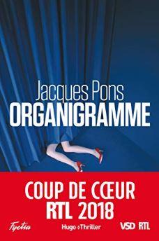 Couverture d'Organigramme de Jacques Pons