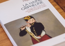 La Haine orpheline de Peggy Sastre (éditions Anne Carrière)