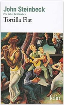 Couverture de Tortilla Flat de John Steinbeck