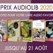Prix Audiolib : les 5 finalistes soumis au vote du public