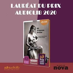 Prix Audiolib 2020 : Né d'aucune femme de Franck Bouysse