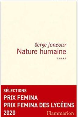 Couverture de Nature humaine de Serge Joncour