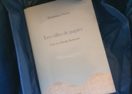 Les villes de papier de Dominique Fortier (éditions Grasset)