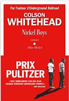 Couverture de Nickel Boys de Colson Whitehead
