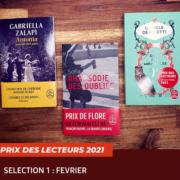 La sélection de février du Prix des lecteurs 2021