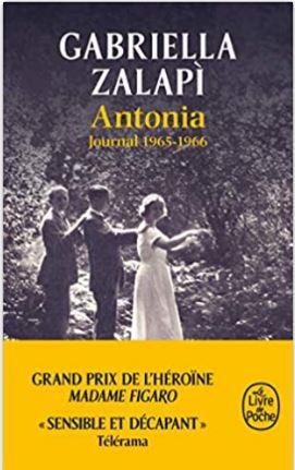 Antonia, journal de 1965-1966 de Gabriella Zalapi