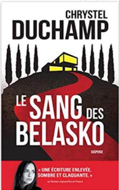 Couverture de Le sang des Belasko de Chrystel Duchamp