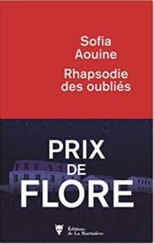 Couverture de Rhapsodie des oubliés de Sofia Aouine