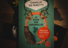 Le sang des mirabelles de Camille de Peretti (éditions Le livre de poche)