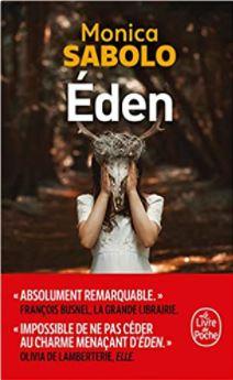 Couverture d'Eden de Monica Sabolo
