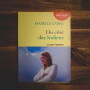 Du côté des Indiens d'Isabelle Carré (éditions Audiolib)