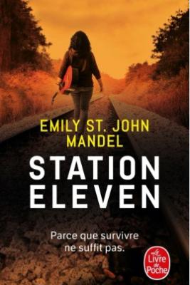 Couverture poche de Station eleven d'Emily St John Mandel