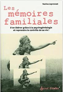 Couverture des Mémoires familiales de Vanina Leprovost