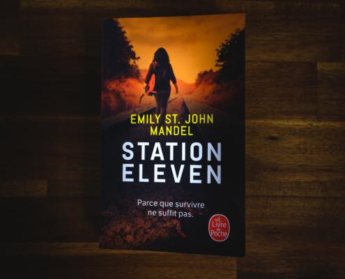 Station eleven d'Emily St John Mandel (Editions Le livre de poche)