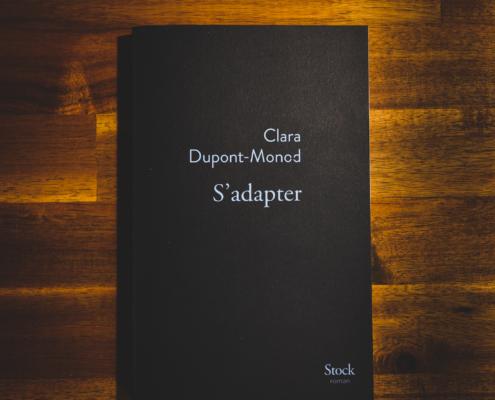 S'adapter de Clara Dupond-Monod (éditions Stock-