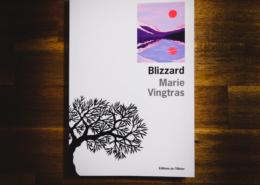 Blizzard de Marie Vingtras (éditions de l'Olivier)