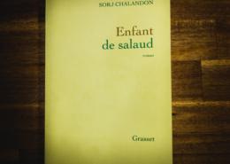 Enfant de salaud de Sorj Chalandon (éditions Grasset)
